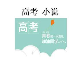 2018高考小说复习.ppt
