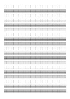 英文四线三格word模板_vBar.pdf