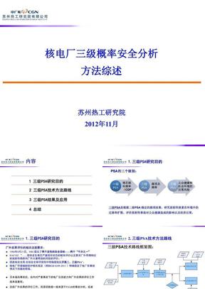 核电厂三级概率安全分析综述.ppt