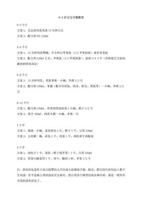 0-3岁宝宝食谱.doc