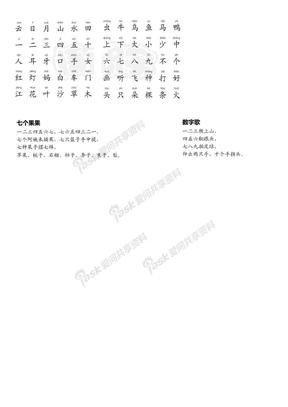四五快读 第1册总结.doc