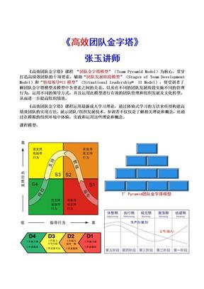 张玉讲师《高效团队》.doc