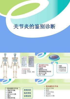 关节炎的鉴别诊断.ppt