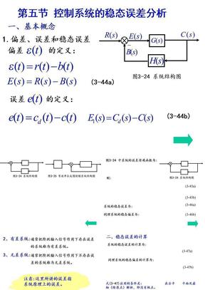 控制系统的稳态误差分析.ppt