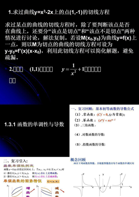 1.3.1 函数的单调性与导数.ppt