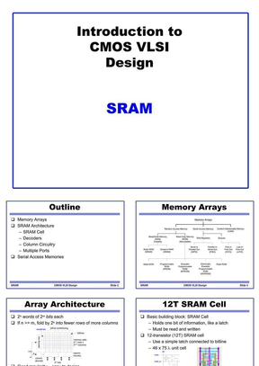 SRAM lecture.ppt