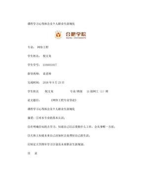 倪文龙——网络工程导论课程论文.doc