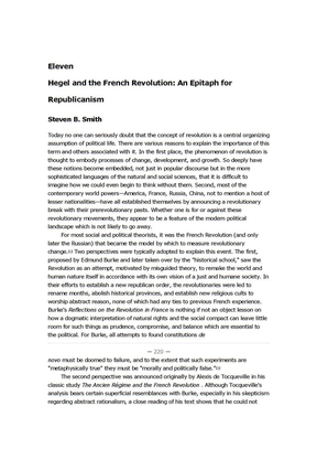 Hegel and the French Revolutio An Epitaph for Republicanism.doc