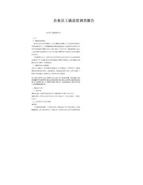 企业员工满意度调查报告.doc