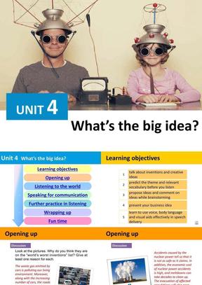 (新版)新视野大学英语视听说教程2第三版BOOK3 UNIT4.pptx