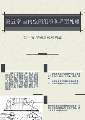 室内空间组织和界面处理.ppt
