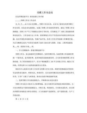 劳模工作室总结.doc
