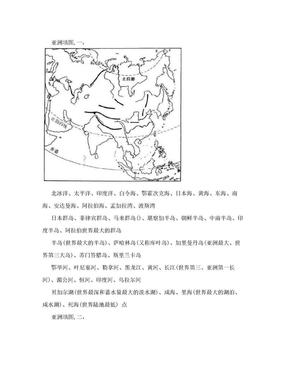 世界区域地理地图填充图.doc