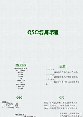 餐廳經理QSC培訓標準版.ppt