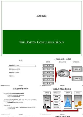 波士顿:品牌知识培训 .ppt