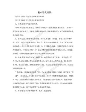 初中语文语法.doc