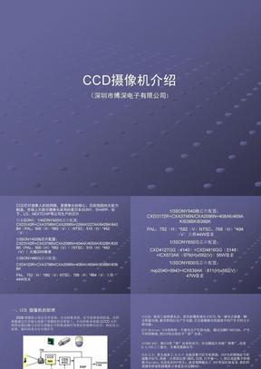 CCD摄象机介绍.ppt
