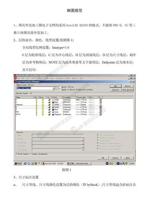 Auto CAD 制图规范doc