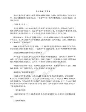 公司企业文化范文.docx