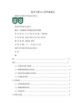 化学工程与工艺毕业论文.doc