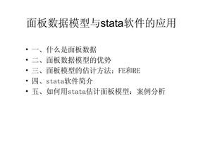 孙文杰:面板数据模型与stata软件的应用.pdf
