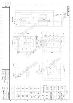 (新住宅规范)担架电梯参考-三菱:最小井道净尺寸1960x2450_前室净深2100.pdf