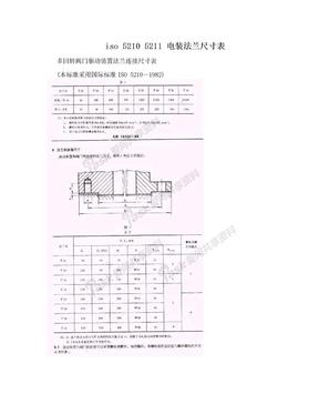 iso 5210 5211 电装法兰尺寸表.doc