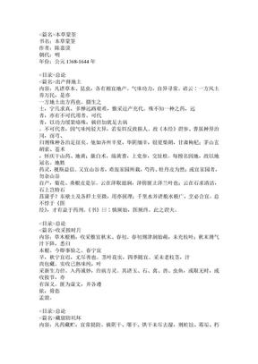 013-本草蒙筌.doc