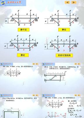 哈工大版理论力学习题课(期末复习).ppt