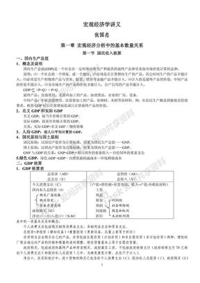 宏观经济学讲义(修订) 张国忠.pdf