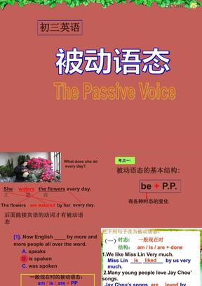 初中英语被动语态公开课课件.ppt