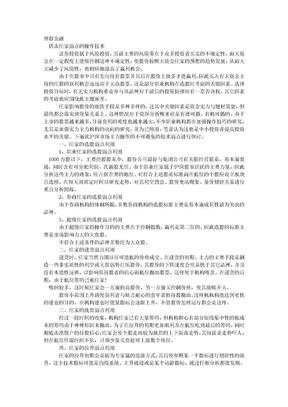 炒股绝招之操盘技巧--伏击庄家弱点的操作技术.doc
