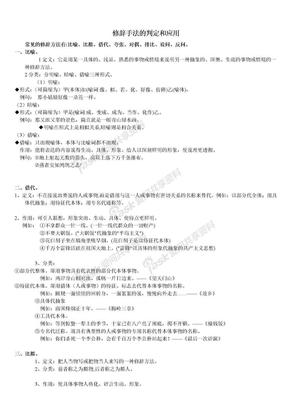 修辞手法.doc