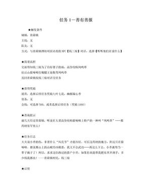 仙剑五支线任务大全(附图每个接任务地点已用红圈标出).doc