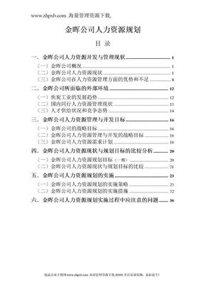 29人力资源规划.doc