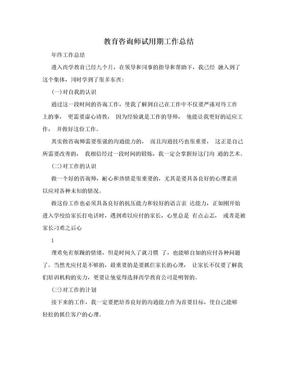 教育咨询师试用期工作总结.doc