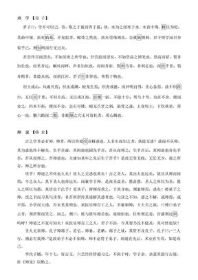 2011年江苏语文高考考纲背诵篇目.doc