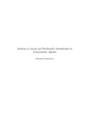 AtiyahMacDonald习题全解_1.pdf