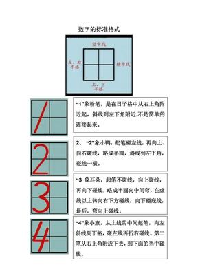 幼儿数字书写格式要求.pdf