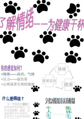 高中心理健康选修课_情绪调节(原创).ppt