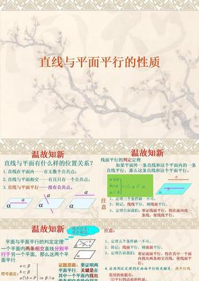 yong线面平行性质.ppt
