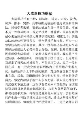 大成拳桩功揭秘.pdf