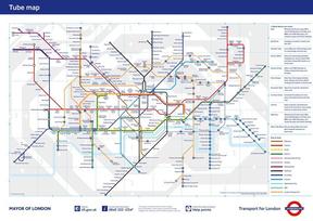 伦敦官方地铁图 london tube map .pdf