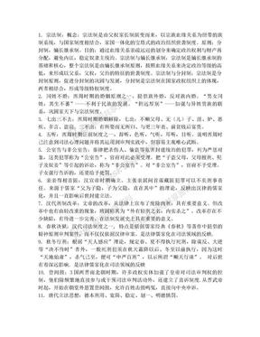 中国法制史名词解释(西北政法).doc