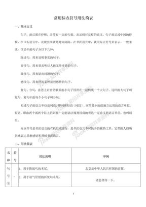 常用标点符号用法简表.doc