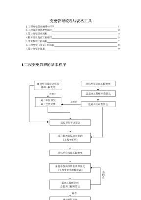 变更管理流程与表格工具.doc