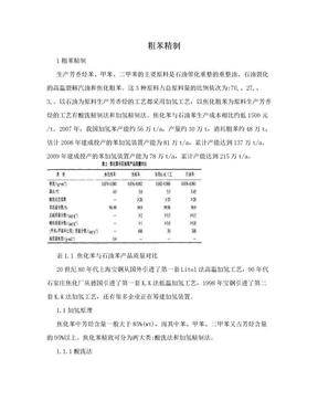 粗苯精制.doc