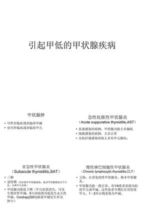 引起甲低的甲状腺(唐兴国).ppt
