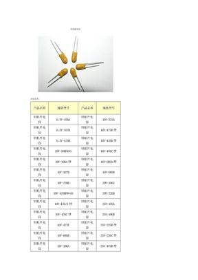 钽电解电容型号及选用方法.doc