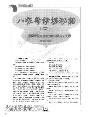 八极拳修炼秘籍_四_原南京国术馆教习魏鸿恩老先生传.pdf